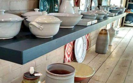 Generous handmade country ceramics by The Potter's Gallery